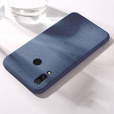 Custodia Silicone Ultra Sottile Morbida Cover S05 per Huawei Honor View 10 Lite Blu
