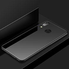 Custodia Silicone Ultra Sottile Morbida Cover S05 per Huawei P20 Lite Nero