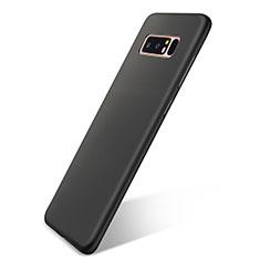 Custodia Silicone Ultra Sottile Morbida Cover S05 per Samsung Galaxy Note 8 Duos N950F Nero