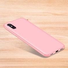 Custodia Silicone Ultra Sottile Morbida Cover S06 per Xiaomi Mi 8 Explorer Rosa