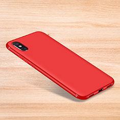 Custodia Silicone Ultra Sottile Morbida Cover S06 per Xiaomi Mi 8 Explorer Rosso