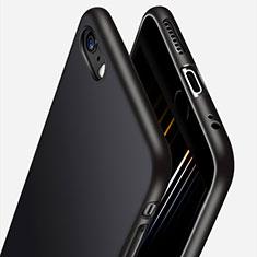 Custodia Silicone Ultra Sottile Morbida H06 per Apple iPhone 6 Plus Nero