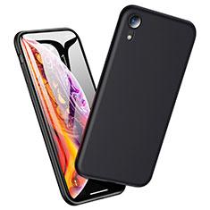 Custodia Silicone Ultra Sottile Morbida per Apple iPhone XR Nero