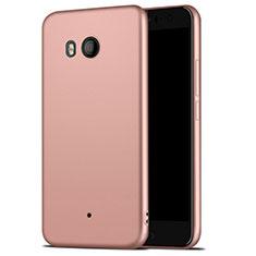 Custodia Silicone Ultra Sottile Morbida per HTC U11 Oro Rosa
