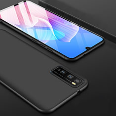Custodia Silicone Ultra Sottile Morbida per Huawei Enjoy 20 Pro 5G Nero