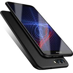Custodia Silicone Ultra Sottile Morbida per Huawei Enjoy 7S Nero