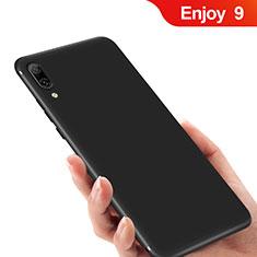 Custodia Silicone Ultra Sottile Morbida per Huawei Enjoy 9 Nero