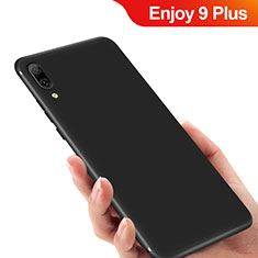 Custodia Silicone Ultra Sottile Morbida per Huawei Enjoy 9 Plus Nero
