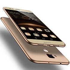 Custodia Silicone Ultra Sottile Morbida per Huawei G8 Oro