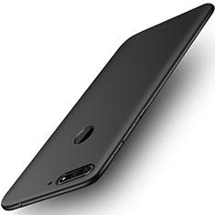 Custodia Silicone Ultra Sottile Morbida per Huawei Honor 7A Nero
