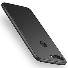 Custodia Silicone Ultra Sottile Morbida per Huawei Honor 8 Nero