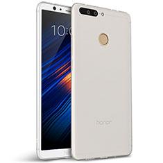 Custodia Silicone Ultra Sottile Morbida per Huawei Honor 8 Pro Bianco