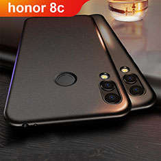 Custodia Silicone Ultra Sottile Morbida per Huawei Honor Play 8C Nero