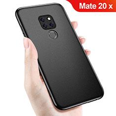 Custodia Silicone Ultra Sottile Morbida per Huawei Mate 20 X Nero