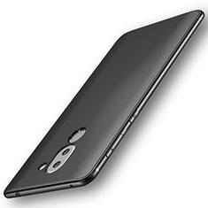 Custodia Silicone Ultra Sottile Morbida per Huawei Mate 9 Lite Nero