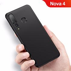 Custodia Silicone Ultra Sottile Morbida per Huawei Nova 4 Nero