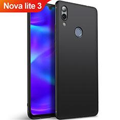 Custodia Silicone Ultra Sottile Morbida per Huawei Nova Lite 3 Nero
