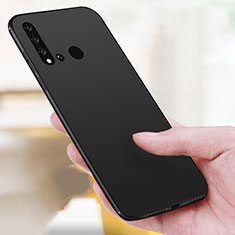 Custodia Silicone Ultra Sottile Morbida per Huawei P20 Lite (2019) Nero