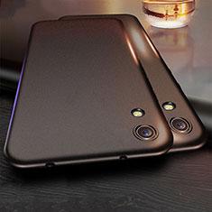 Custodia Silicone Ultra Sottile Morbida per Huawei Y6 (2019) Nero