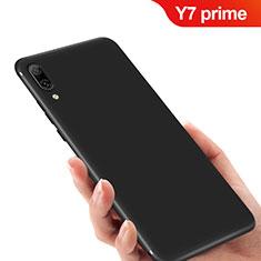 Custodia Silicone Ultra Sottile Morbida per Huawei Y7 Prime (2019) Nero
