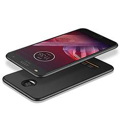 Custodia Silicone Ultra Sottile Morbida per Motorola Moto Z Play Nero
