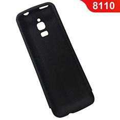 Custodia Silicone Ultra Sottile Morbida per Nokia 8110 (2018) Nero