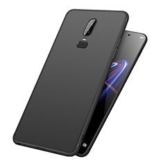 Custodia Silicone Ultra Sottile Morbida per OnePlus 6 Nero