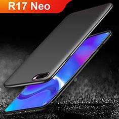 Custodia Silicone Ultra Sottile Morbida per Oppo R17 Neo Nero