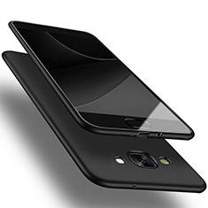 Custodia Silicone Ultra Sottile Morbida per Samsung Galaxy A3 Duos SM-A300F Nero