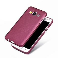 Custodia Silicone Ultra Sottile Morbida per Samsung Galaxy A3 Duos SM-A300F Viola
