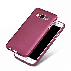 Custodia Silicone Ultra Sottile Morbida per Samsung Galaxy A3 SM-300F Viola