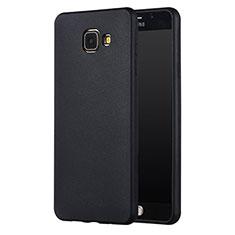 Custodia Silicone Ultra Sottile Morbida per Samsung Galaxy A7 (2017) A720F Nero