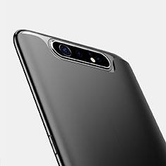 Custodia Silicone Ultra Sottile Morbida per Samsung Galaxy A80 Nero