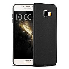 Custodia Silicone Ultra Sottile Morbida per Samsung Galaxy C7 SM-C7000 Nero