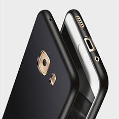 Custodia Silicone Ultra Sottile Morbida per Samsung Galaxy C9 Pro C9000 Nero