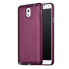 Custodia Silicone Ultra Sottile Morbida per Samsung Galaxy Note 3 N9000 Viola