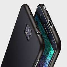 Custodia Silicone Ultra Sottile Morbida per Samsung Galaxy Note 4 Duos N9100 Dual SIM Nero