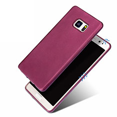 Custodia Silicone Ultra Sottile Morbida per Samsung Galaxy Note 7 Viola