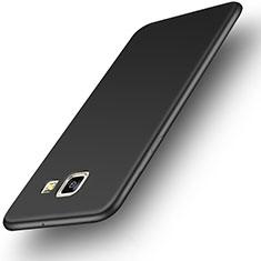Custodia Silicone Ultra Sottile Morbida per Samsung Galaxy On5 (2016) G570 G570F Nero