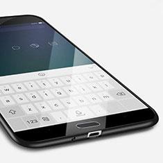 Custodia Silicone Ultra Sottile Morbida per Samsung Galaxy S4 i9500 i9505 Nero