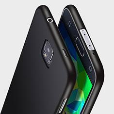 Custodia Silicone Ultra Sottile Morbida per Samsung Galaxy S5 Duos Plus Nero