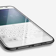 Custodia Silicone Ultra Sottile Morbida per Samsung Galaxy S6 Edge SM-G925 Nero