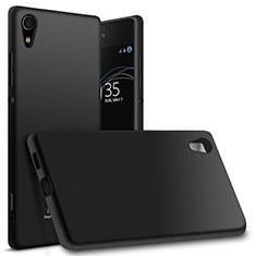 Custodia Silicone Ultra Sottile Morbida per Sony Xperia XA1 Ultra Nero