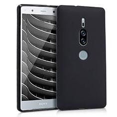 Custodia Silicone Ultra Sottile Morbida per Sony Xperia XZ2 Premium Nero