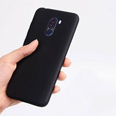 Custodia Silicone Ultra Sottile Morbida per Xiaomi Pocophone F1 Nero