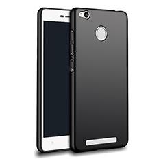 Custodia Silicone Ultra Sottile Morbida per Xiaomi Redmi 3 Pro Nero