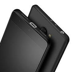 Custodia Silicone Ultra Sottile Morbida per Xiaomi Redmi 4 Standard Edition Nero