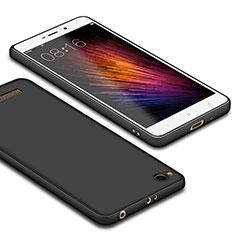 Custodia Silicone Ultra Sottile Morbida per Xiaomi Redmi 4A Nero