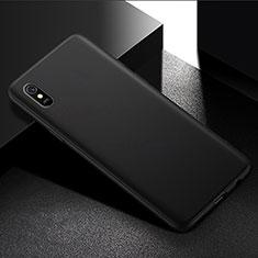 Custodia Silicone Ultra Sottile Morbida per Xiaomi Redmi 9A Nero