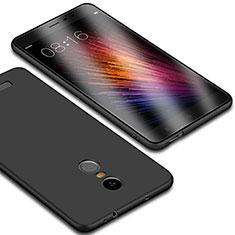 Custodia Silicone Ultra Sottile Morbida per Xiaomi Redmi Note 3 MediaTek Nero